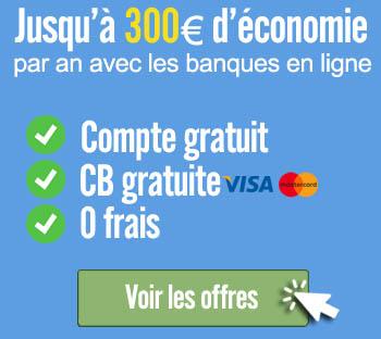 Offres bancaires online